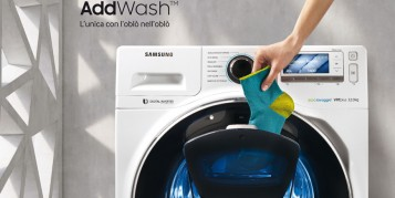 Lavatrici AddWash Samsung - Aggiungi ciò che vuoi, quando vuoi!