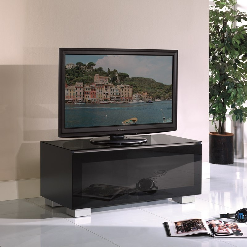 Mobili Munari Tv.Dagimarket Munari Ge110ne Mobile Porta Tv Fino A 42 Pollici Nero Made In Italy