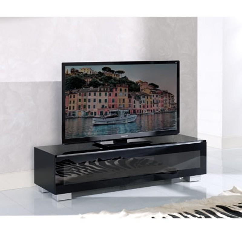 MUNARI GE150NE MOBILE PORTA TV FINO A 63 POLLICI NERO MADE IN ITALY