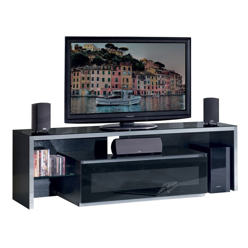 Mobili Porta Tv Munari Prezzi.Munari Ge165ne Mobile Porta Tv Fino A 63 Pollici Nero Made In