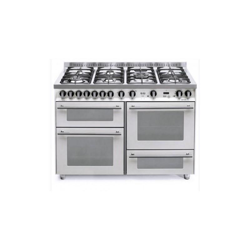 Dagimarket lofra con porta bombola p126smfe mf 2ci bianco - Bombola gas cucina prezzo ...