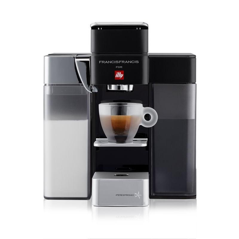 ILLY MACCHINA DEL CAFFE CAPSULE IPERESPRESSO HOME Y5 MILK NERO