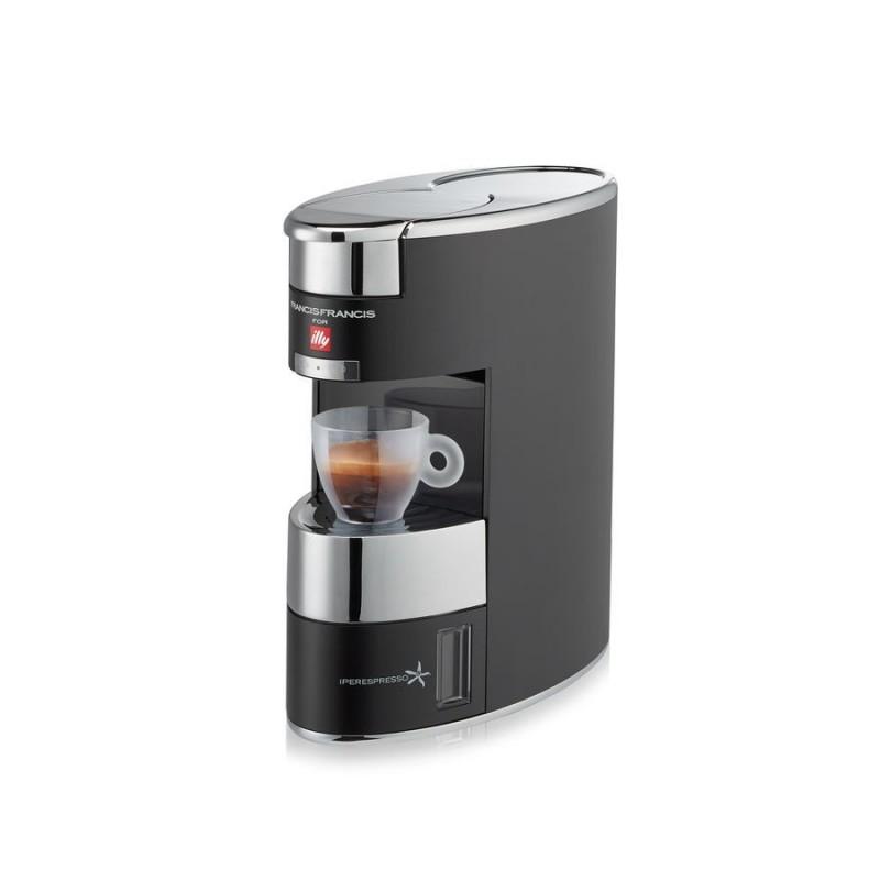 ILLY MACCHINA DEL CAFFE CAPSULE IPERESPRESSO HOME X9 NERO ANODIZZATO ...