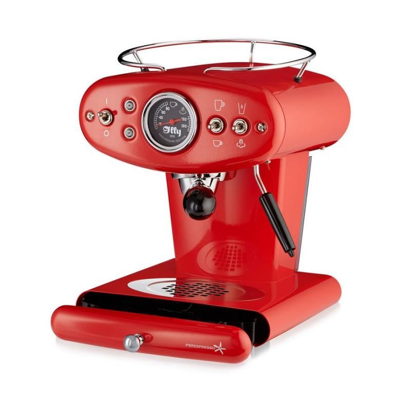 ILLY MACCHINA DEL CAFFE CAPSULE IPERESPRESSO HOME X1 ROSSO ANNIVERSARY E&C