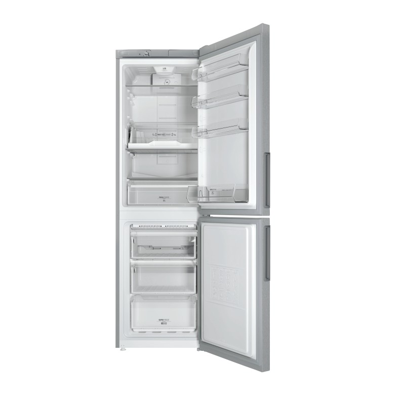dagimarket hotpoint ariston lh8ff2oa frigo combi 305lt h189 a nfsilver. Black Bedroom Furniture Sets. Home Design Ideas