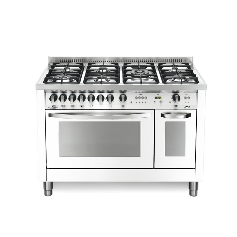 Dagimarket lofra con porta bombola pd126gv e 2ci bianco - Bombola gas cucina prezzo ...