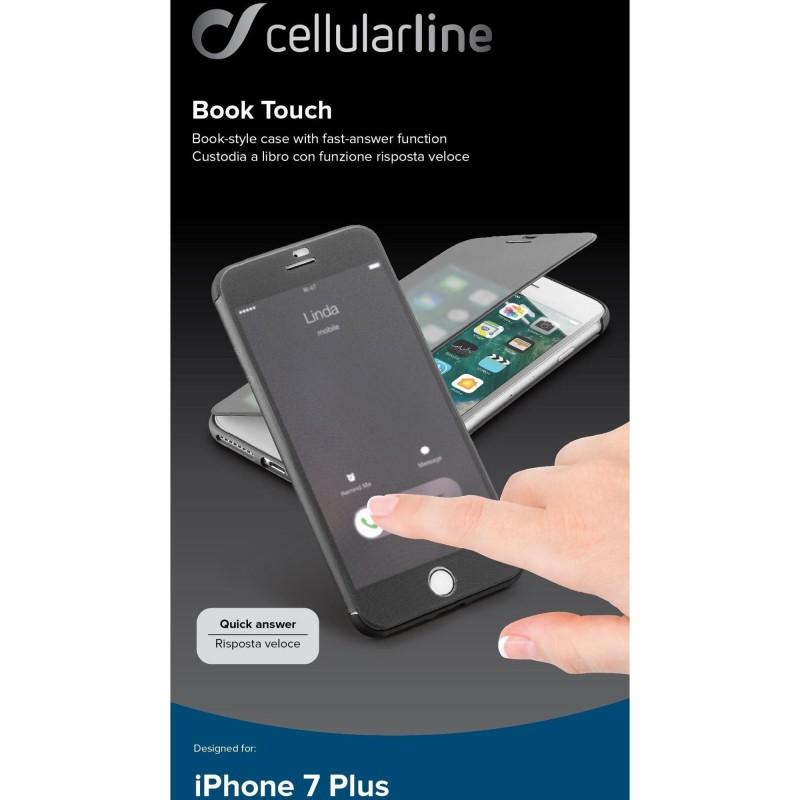 custodia libro cellular line iphone 7