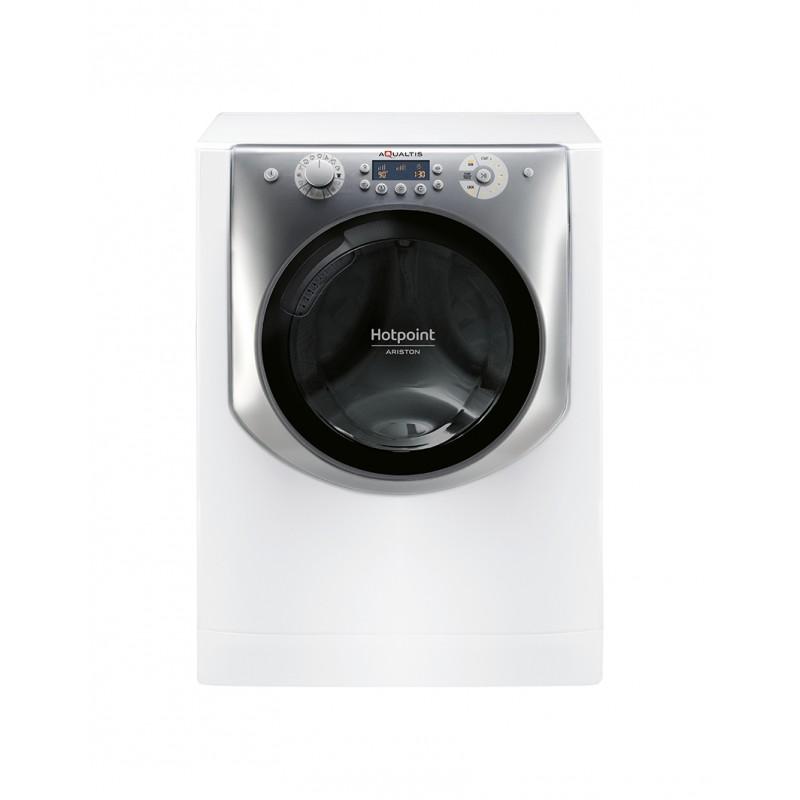 Hotpoint-AQD970F-697-EU-Autonome-Charge-avant-A-Gris-Blanc