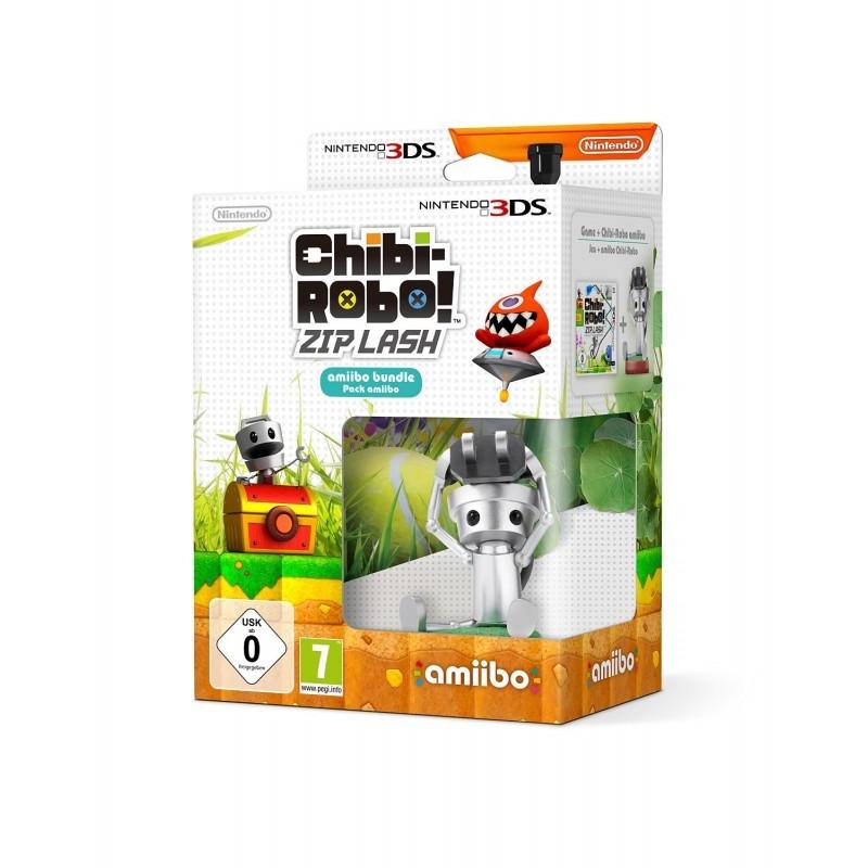 NINTENDO 2231449 3DS CHIBI-ROBO ZIP LASH + AMIIBO BUNDLE