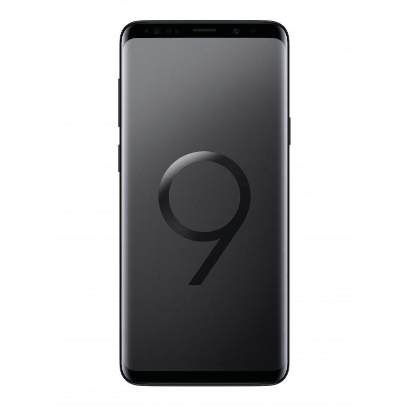 Imballaggio per Samsung Galaxy s9 Midnight Black Scatola Box Scatola Cartone
