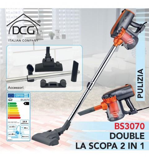 DCG BS3070 SCOPA ELETTRICA SENZA SACCO CICLONICA 2IN1 600W 3ANNI GARANZIA