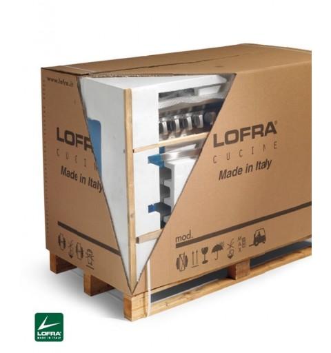 Lofra Rrg96Mft/Ci Rosso Burgundy 90X60 Cucina Con Piano In