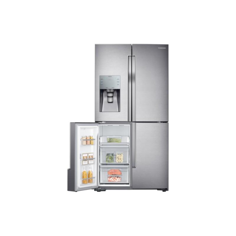 Samsung-Rf56k9041sr-es-4-Porte-908x1825x733-Classe-A-Capaciti-546-Lt-Dispens miniatura 9