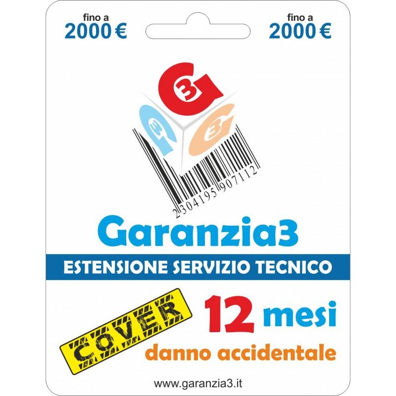 GARANZIA3 GECIT2000 ESTENSIONE GARANZIA 3 ANNI PER DANNO ACCIDENTALE / MASSIMALE