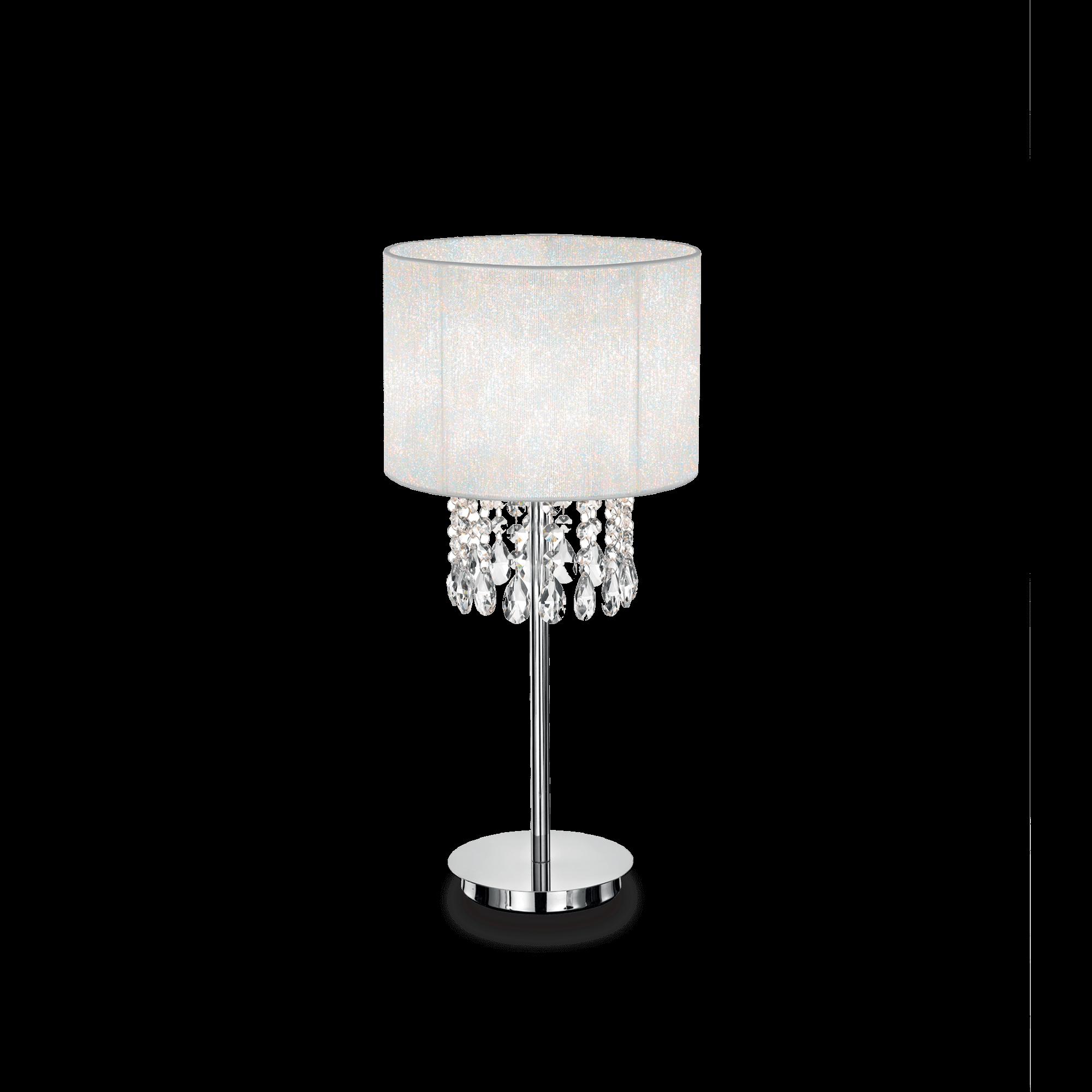 Ideal Lux Mod Opera Tl1 Bianco Lampada Da Tavolo 1 Luce Ebay