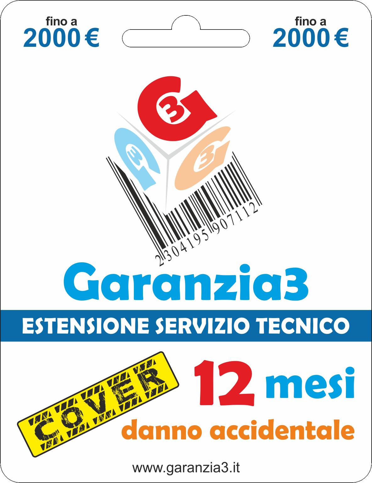 Garanzia3 Cover 2000 - Dagimarket