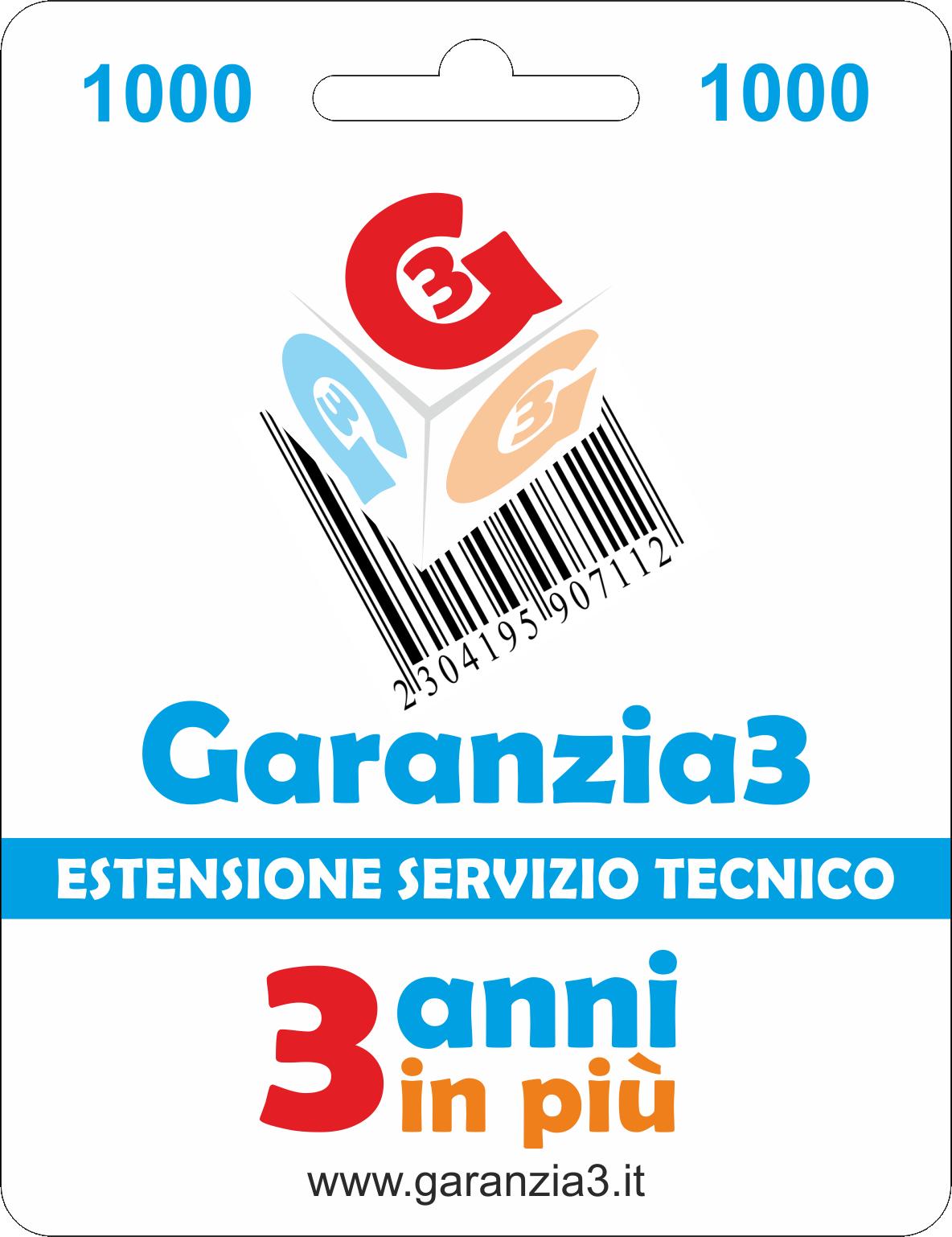 Garanzia3 1000 - Dagimarket