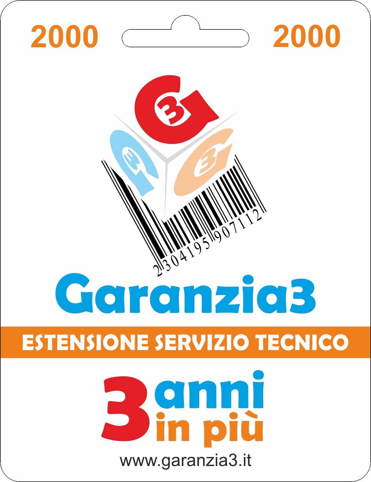 Garanzia3 2000 - Dagimarket